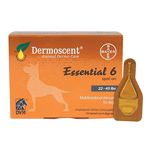 Dermoscent Essential 6 - Dogs 22-44 lbs
