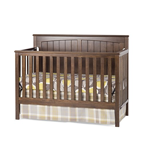 Child Craft Sheldon 4-in-1 Convertible Crib, Slate