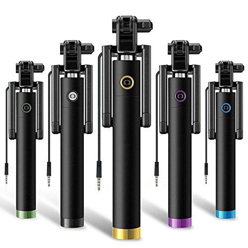 Generic Selfie Stick For Mobile Phones (Multi Colour)