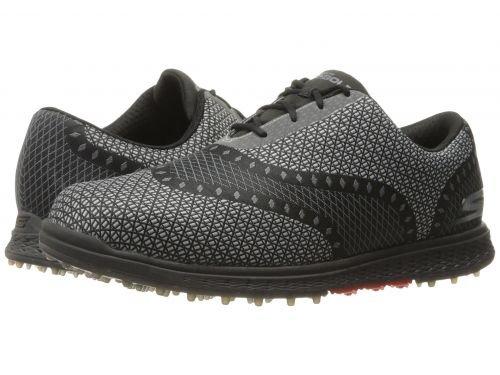 SKECHERS Performance(スケッチャーズ) メンズ 男性用 シューズ 靴 スニーカー 運動靴 GO GOLF - Elite V.2 Ace - Black/Gray [並行輸入品] B07C8GZRXB
