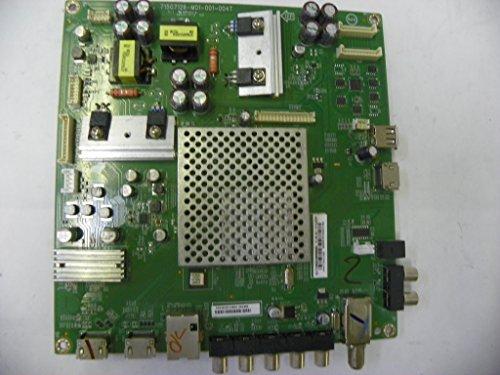 Vizio E50-C1 Main Board 756TXFCB02K0090 (XFCB02K0090) can be found on a sticker