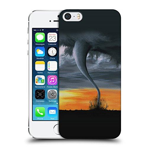 Officiel Graham Bradshaw Tornade Illustrations Étui Coque D'Arrière Rigide Pour Apple iPhone 5 / 5s / SE