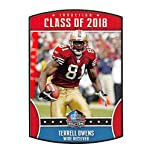 2669b8fef3f 2018 Panini NFL Stickers Collection  6 Terrell Owens San Francisco 49ers  Official.