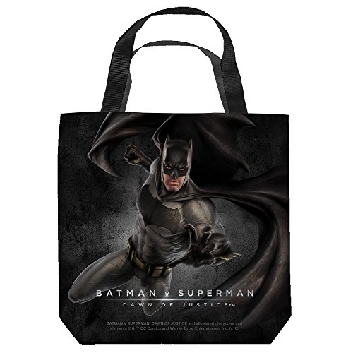 BATMAN V SUPERMAN/BATMAN - TOTE BAG - 18X18