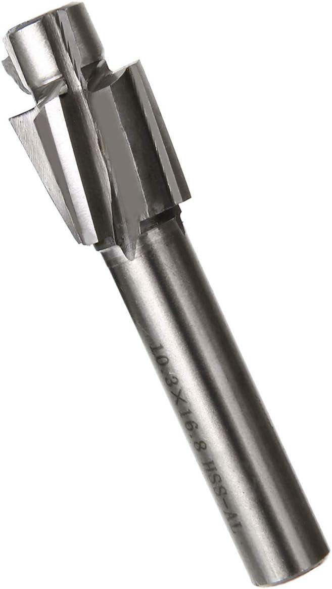 Sale M3.2-m12.4 Pilot Slotting Tool Counterbore Mould End Mill Cutter Slot Set #