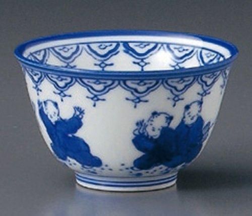 ARITA-KARAKO 3.5inches Set of 10 Tea Cups Jiki Japanese Original Porcelain by Watou.asia