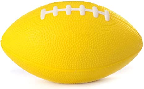 Teabelle - Pelota de Rugby de Poliuretano de 6 Pulgadas para niños ...