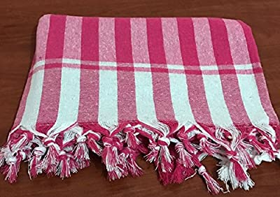 Tablecloth Linen Square 100% Cotton Checked Plaid Dinner Summer Picnic Throw Blanket Table Cover Gingham Check Buffalo Bohemian Checkered Turkish Kitchen Table Linen Retro Vintage Sofra