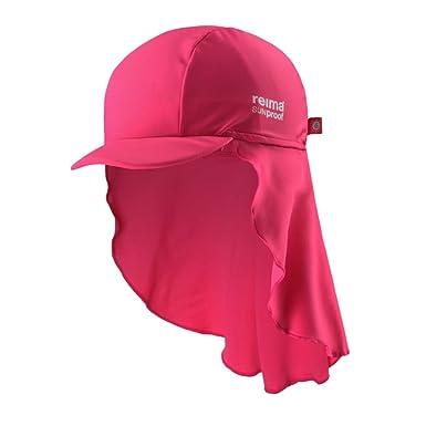 nya foton bästa försäljning officiell leverantör Barn vit uv-hatt solhatt solmössa Vesikko solskydd 50+: Amazon.co ...