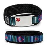 TAKING ELIQUIS Medical ID Alert Bracelet with Decorative Adjustable wristband.