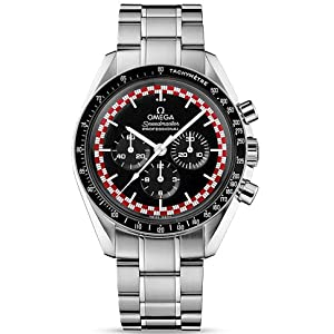 517FPi73mxL. SS300  - Omega Speedmaster Moonwatch Black Dial Stainless Steel Mens Watch 31130423001004