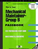 Mechanical Maintainer -Group B, Jack Rudman, 0837304849