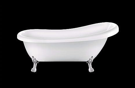Vasca Da Bagno Retro : Vasca da bagno retrò richmond bianca con zampe di lion cromate