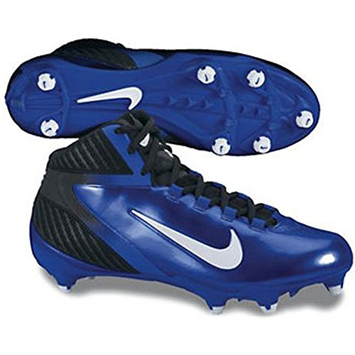 Nike Mens Alpha Speed D Nero / Varsity Royal / White