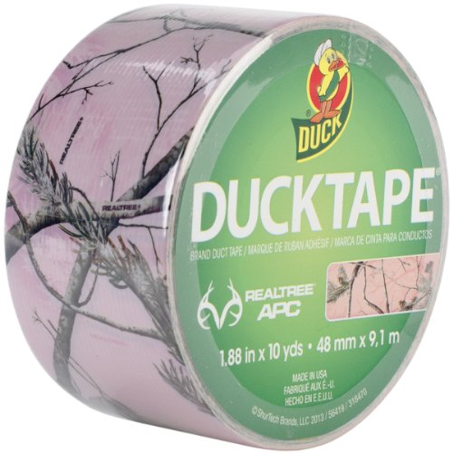 ShurTech-RTHDT-3109-Real-Tree-Hardwoods-Duck-Tape-188-by-10-Yard-Pink-Camouflage