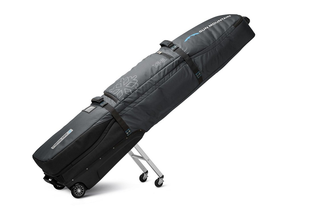 Sun Mountain FreeGlider Travel Bag 2017 Gunmetal/Blue by Sun Mountain