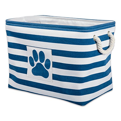 - DII Bone Dry Large Rectangle Pet Toy and Accessory Storage Bin, 18x12x15