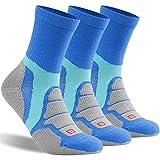Merino Wool Hiking Socks,ZEALWOOD Men Crew Socks,Running Cushion Socks,Dry Fit Socks,Workout Socks,Hiker Micro Crew socks