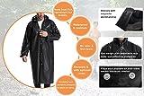 Hapshop Portable Waterproof Raincoat,Rain Poncho for...