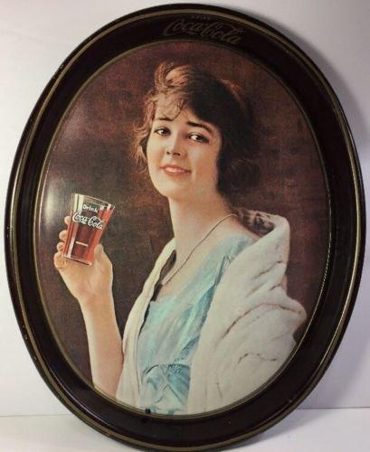 (1973 Coca Cola Tray redo of 1923 Coke Ad)