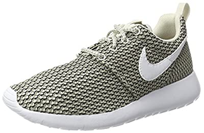 Nike Roshe One Big Kid's (GS) Shoes Light Bone/White/Cobble Stone 599728-041 (6 M US)