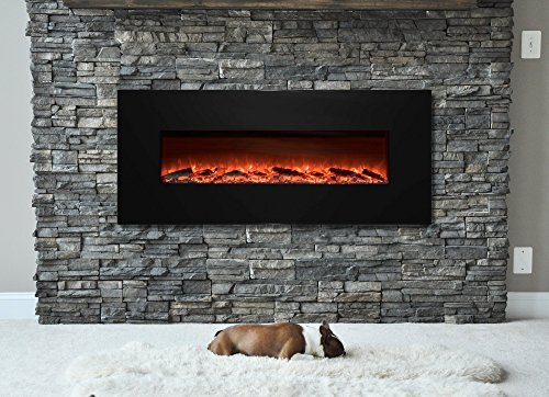 Garibaldi Heating Electric Fireplace Wall Mounted With Remote