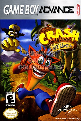 CGC Huge Poster - Crash Bandicoot The Huge Adventure - Ni...