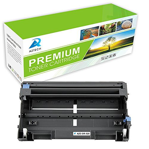 Aztech 1 Pack Replaces Brother DR520 DR-520 Drum Unit For Brother HL-5240 HL-5250DN HL-5340D HL-5370DWT MFC-8460N MFC-8660DN MFC-8670DN MFC-8860DN MFC-8870DW MFC-8890DW
