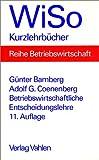 img - for Betriebswirtschaftliche Entscheidungslehre. book / textbook / text book