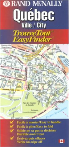 Rand McNally Quebec: Ville/City (EasyFinder)