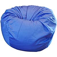 Ahh! Products Blue Organic Cotton Large Bean Bag Chair