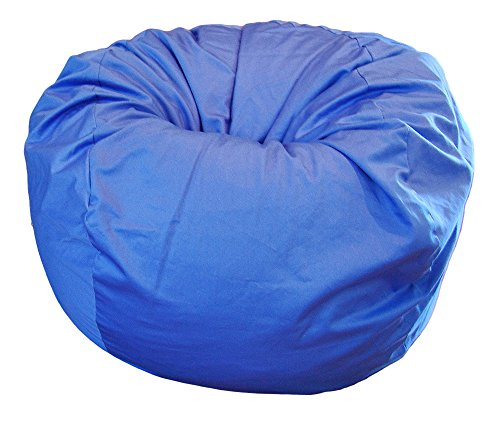 Ahh! Products Blue Organic Cotton Large Bean Bag Chair by Ahh! Products