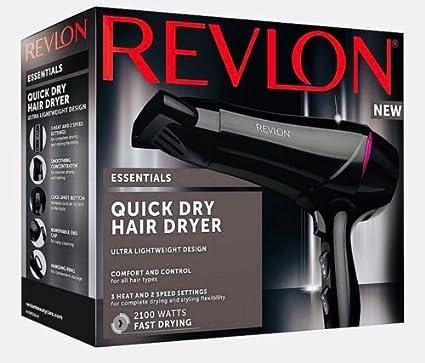 Revlon rvdr5228uk Essentials secado rápido secador de pelo 2100 W