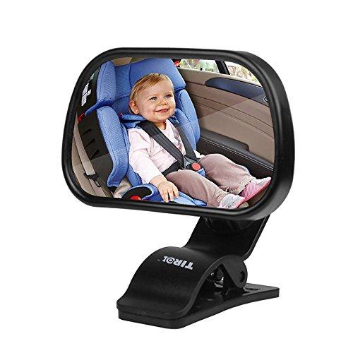 Sunsbell Baby-R/ückspiegel R/ückspiegel f/ür Babys und Mutter konvexer R/ückspiegel Autos verstellbar f/ür Babys und Kinder f/ür Babys