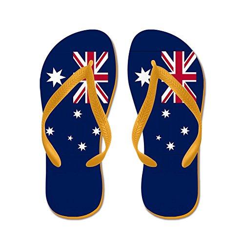 Infradito Bandiera Australiana - Infradito, Sandali Infradito Divertenti, Sandali Da Spiaggia Arancione