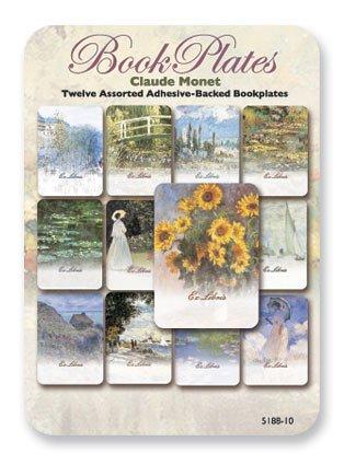 UPC 798925004578, Claude Monet - Set of 12 Assorted Adhesive Bookplates