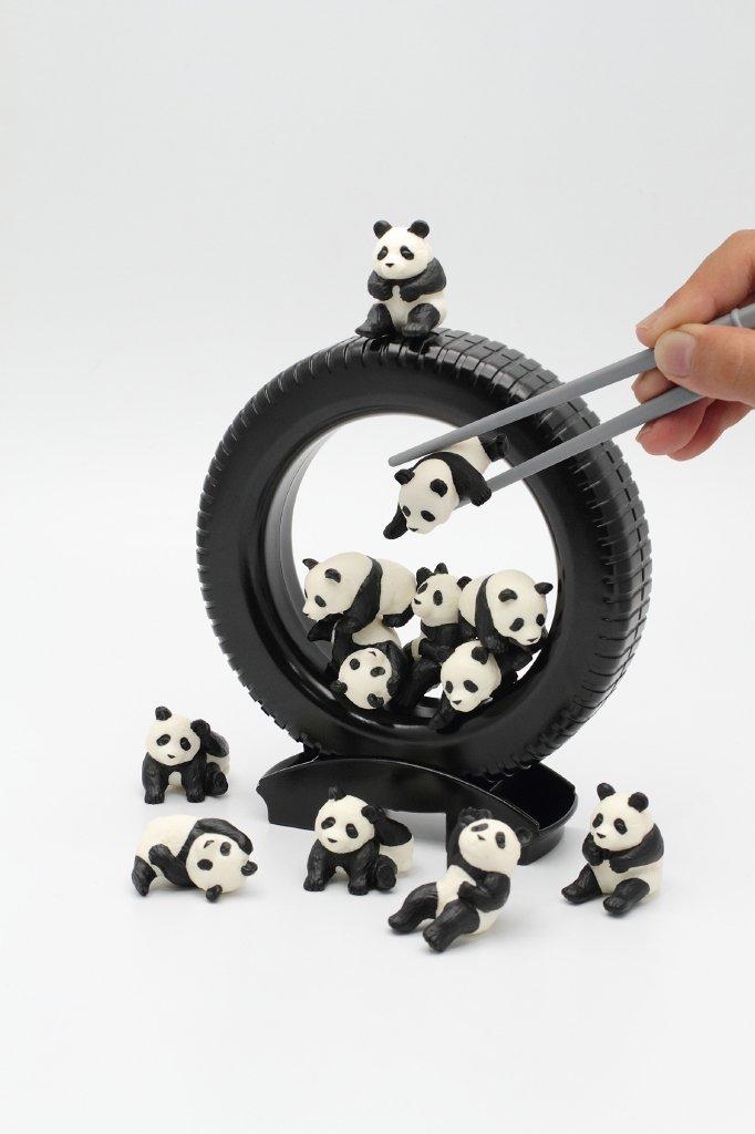 Panda Darake Chopsticks Practice Kit