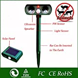 Solar Powered Ultrasonic Outdoor Animal & Pest Repeller – Motion Activated