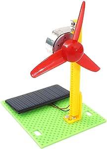 ALLTA Modelo de Ventilador Solar DIY Modelo de Ventilador Solar de ...