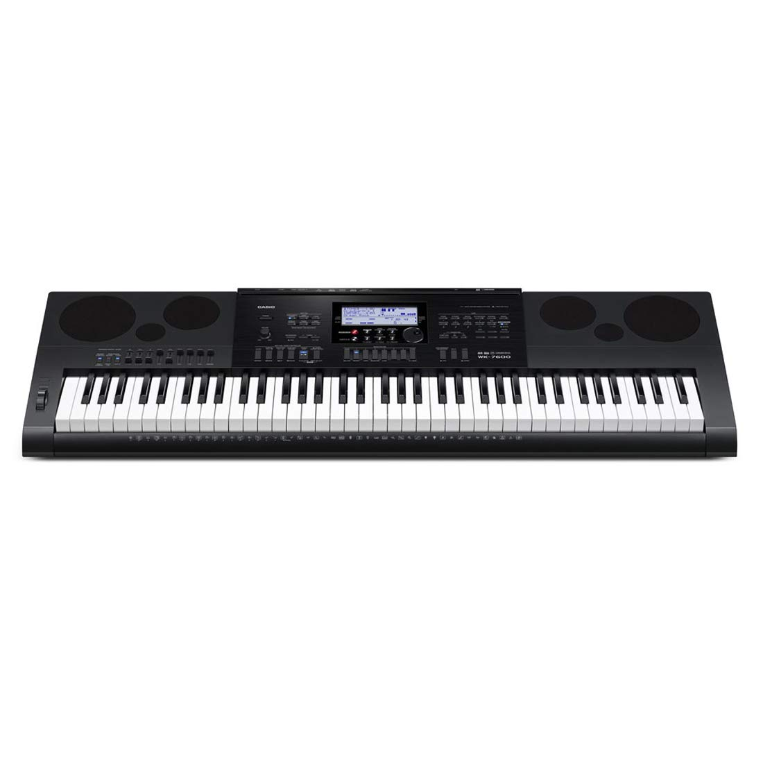 Casio WK 7600 Drawbars