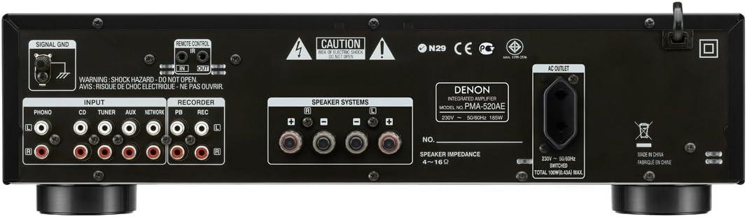 PMA-520 AE NEGRO: Amazon.es: Electrónica