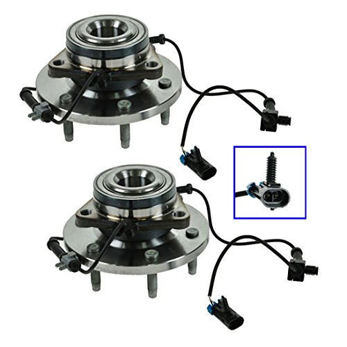 TIMKEN SP550311 Front Wheel Bearing & Hub Pair Set of 2 For 06-08 Hummer H3 (H3 Timken Hummer)