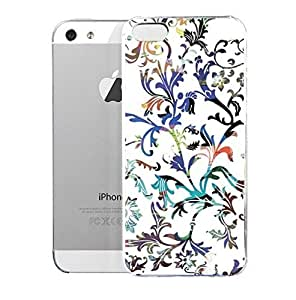 Light weight with strong PC plastic case for Iphone 5/5s Art Abstract Art Frondescence by mcsharks