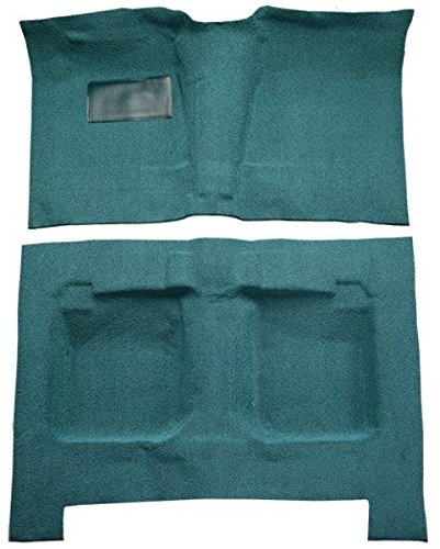 1959 to 1960 Oldsmobile Dynamic 88 Carpet Custom Molded Replacement Kit, 4 Door Hardtop (8251-Almond Plush Cut Pile)