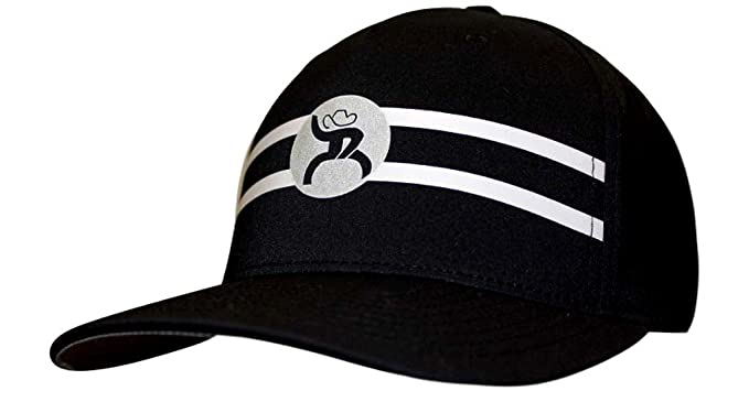 pretty nice 32a4f 80d79 HOOey Hat -  Perf  Roughy Reflective Cap - Black White (Large