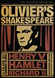 Olivier's Shakespeare (Hamlet / Henry V / Richard III) (The Criterion Collection)