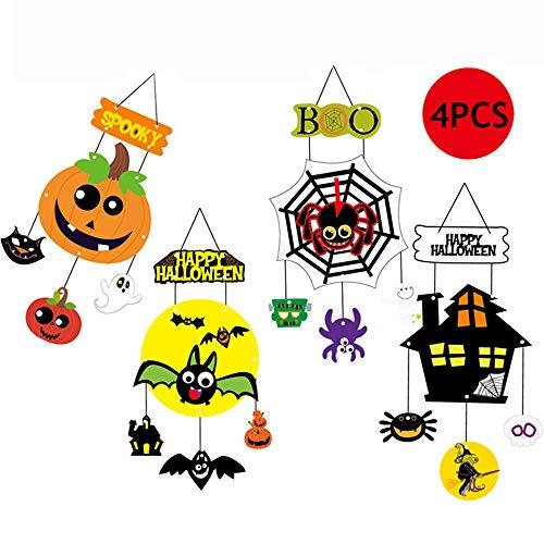 Modern Halloween Felt Door Banner - Wekity Halloween Decoration Trick or Treat