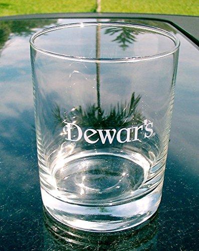 Dewar's White Label Scotch Drink Glasses