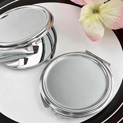 32 Perfectly Plain Silver Metal Mirrors