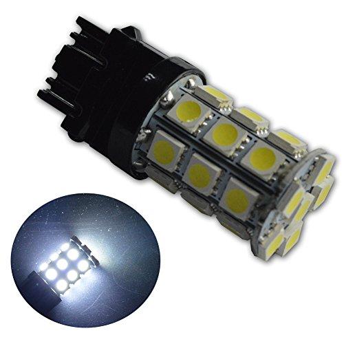 Xenon Dual Filament Lamp - Ruiandsion 2pcs 540 Lumens Super Bright 5050 27SMD Chipsets 3056 3156 3057 3157 LED Bulbs for Brake Tail Lamp,Xenon White